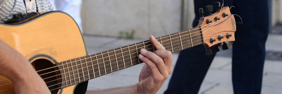 Gitarrlektioner i Göteborg